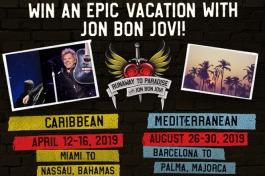 Win an Epic Vacation with Jon Bon Jovi!