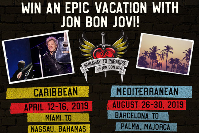 Win an Epic Vacation with Jon Bon Jovi!