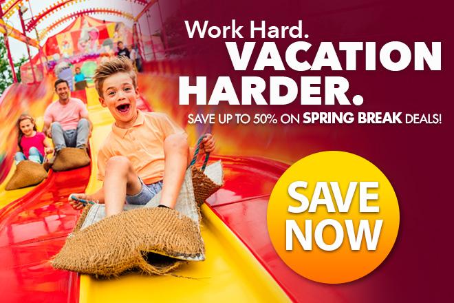 Spring Deals at TicketsatWork.com!