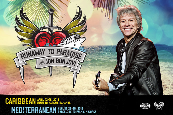 Runaway to Paradise with Jon Bon Jovi at TicketsatWork