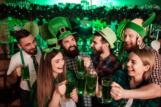 St. Patrick's Day Deals at TicketsatWork.com