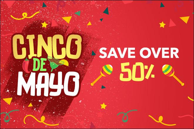 Save on Cinco de Mayo 2019 Deals at TicketsatWork.com!