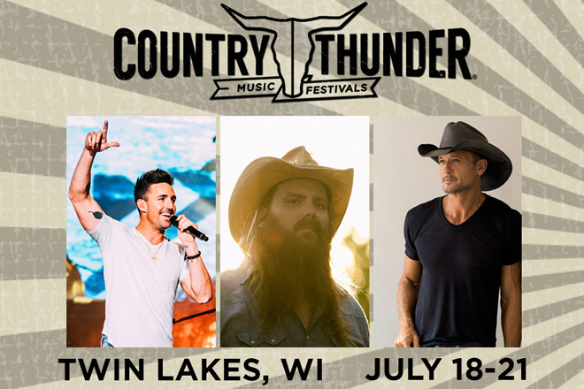Country Thunder - Summer Music Festival Tickets!