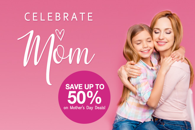 Mother's Day Deals at TicketsatWork.com