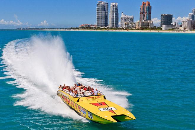 Thriller Miami Speedboat Tickets at TicketsatWork.com