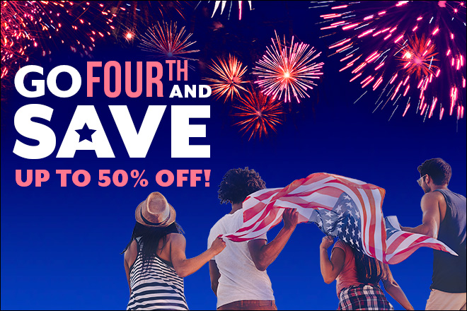 4th of July Deals at TicketsatWork.com!
