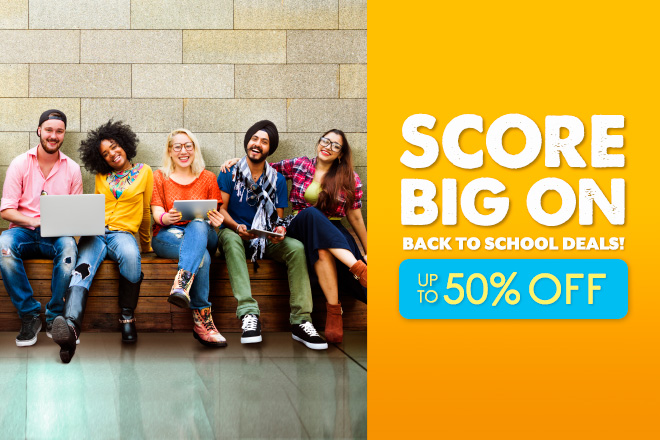 Back to School Deals up to 50% off at TicketsatWork.com