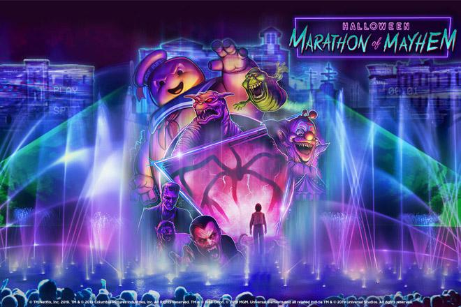 Halloween Marathon of Mayhem at Universal's Halloween Horror Nights 2019