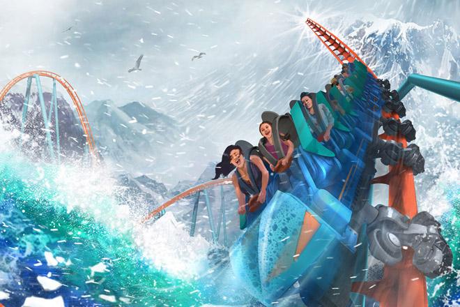 Ice Breaker – Opening Spring 2020 at SeaWorld Orlando