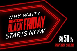 Pre-Black Friday Deals - Save up to 50%!