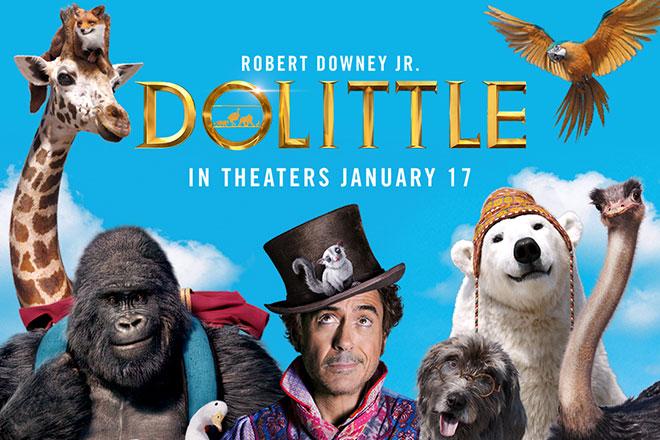 'Dolittle' starring Robert Downey Jr.