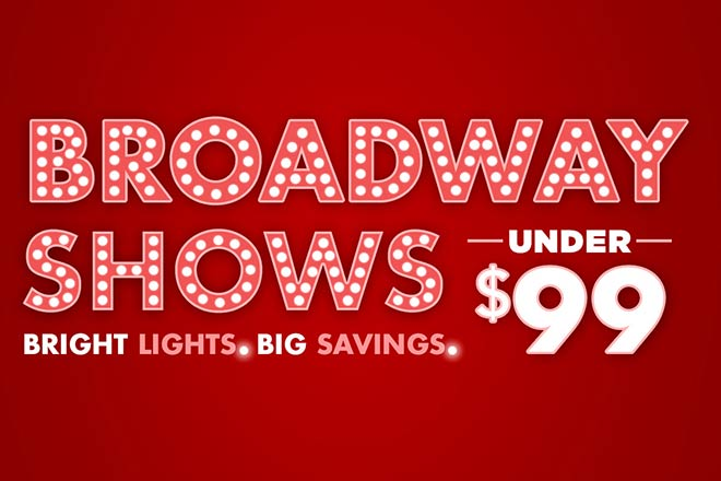 Broadway Shows Under $99